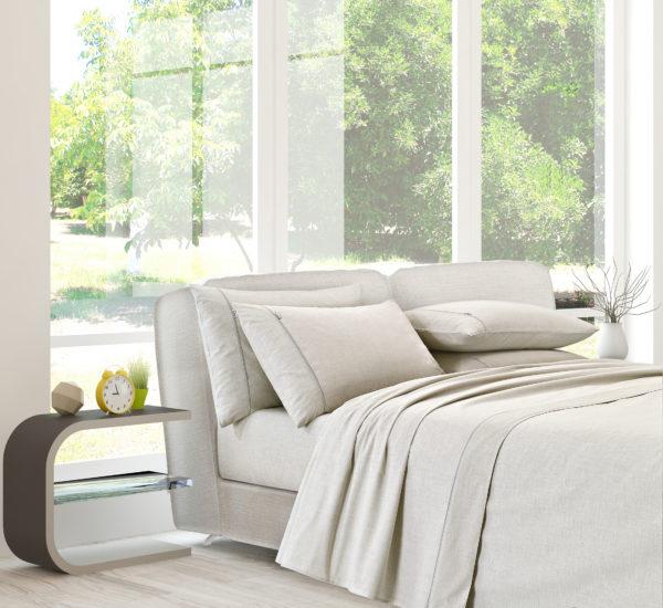 Bedroom with SilverPro Bedding bundle