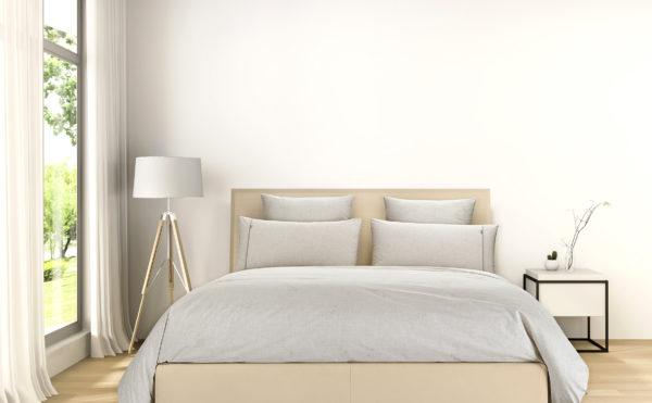 Bedroom with SilvePro Duvet Cover